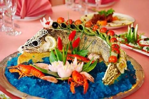 Ryibnyie blyuda v kulinarii i servirovka takih blyud Рыбные блюда в кулинарии и сервировка таких блюд