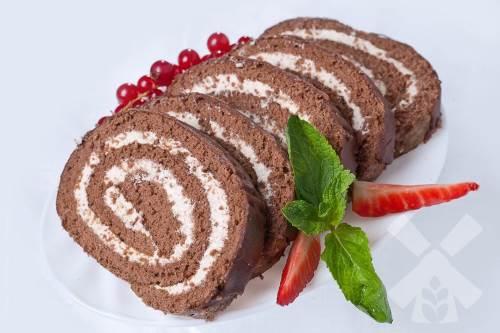 CHeshskiy shokoladnyiy rulet Чешский шоколадный рулет